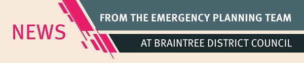Emergency planning banner
