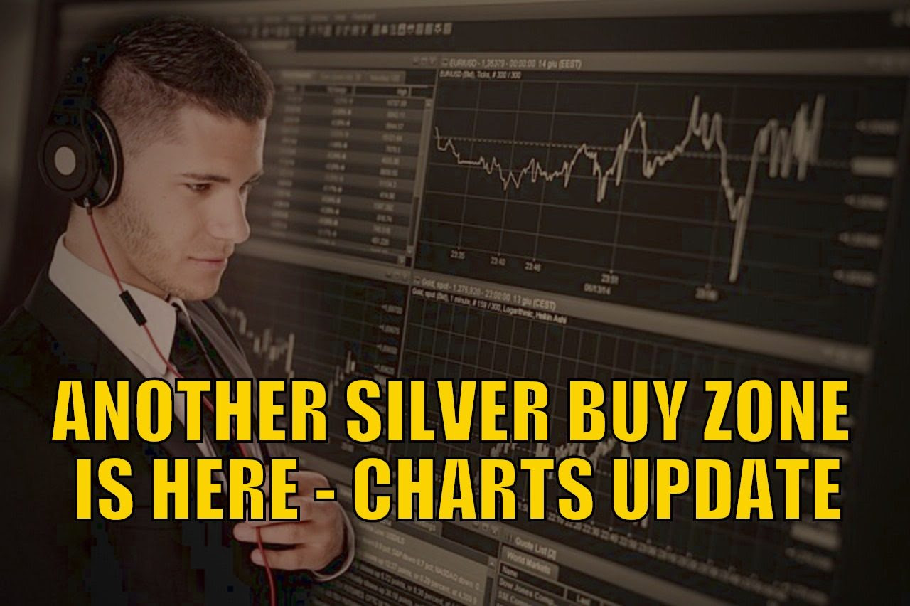 Another Silver Buy Zone is Here - Charts Update