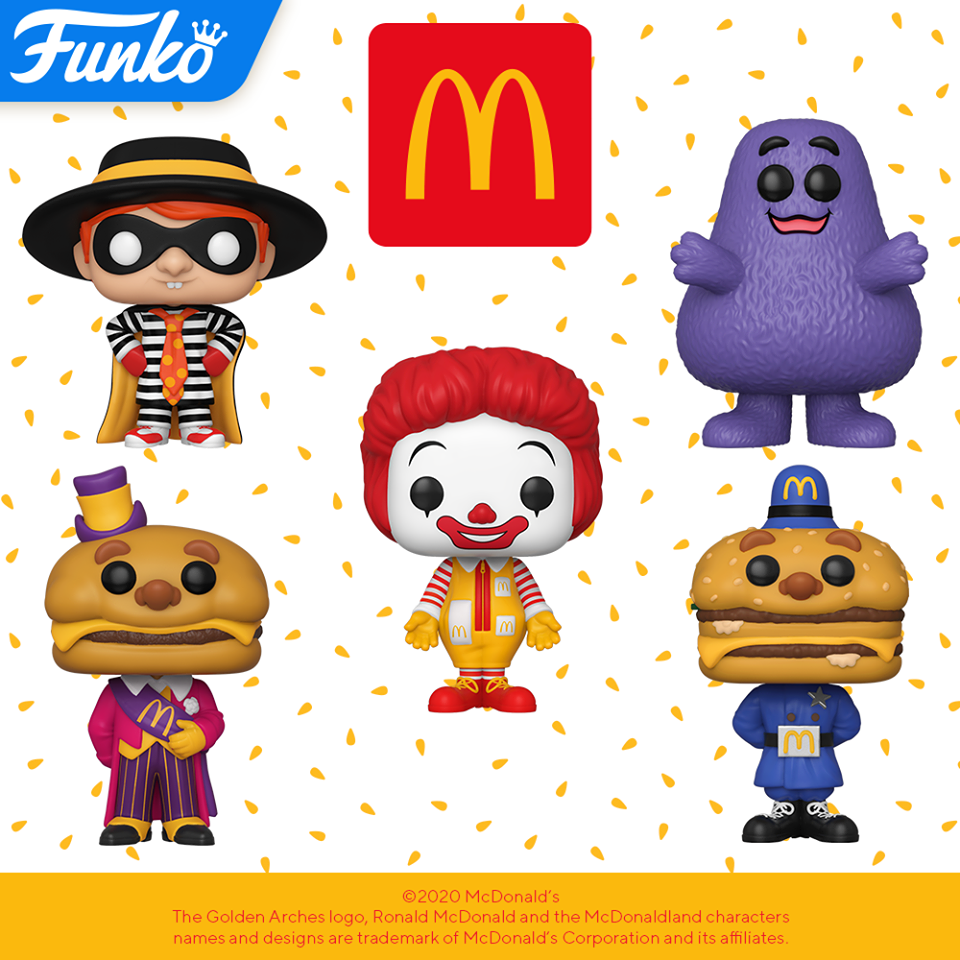 Image of Funko Pop! Ad Icons: McDonald's - Set of 5 Bundle