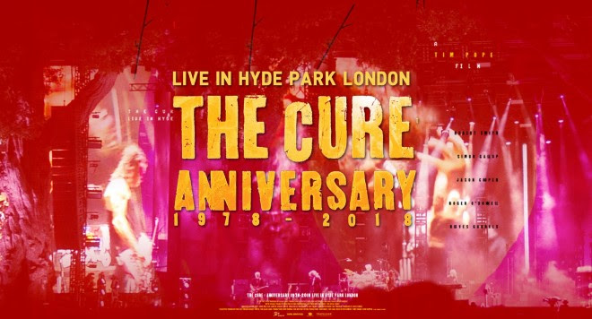 THE CURE ANNIVERSARY 1978 - 2018
