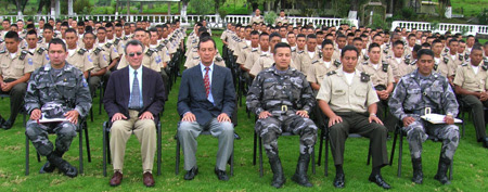 Ecuadorian Soldiers practicing Transcendental Meditation