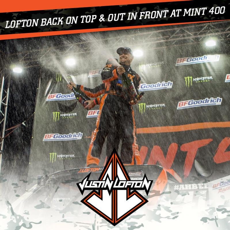 Justin Lofton, Mint 400 Champion, Off Road Racing, Trick Truck, Bink Designs, FOX, Multicam, Jimco, STEEL-IT