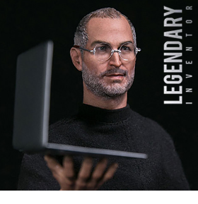 STEVE JOBS LEGENDARY INVENTOR 1/6 SCALE FIGURE