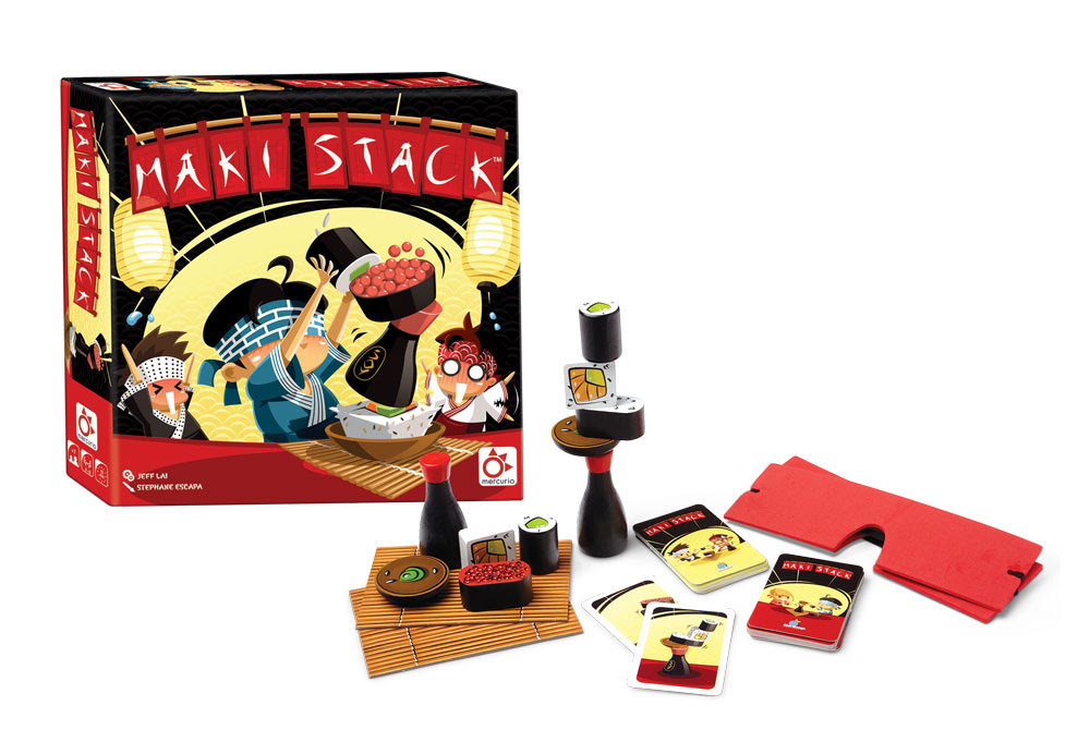 maki stack juego de mesa