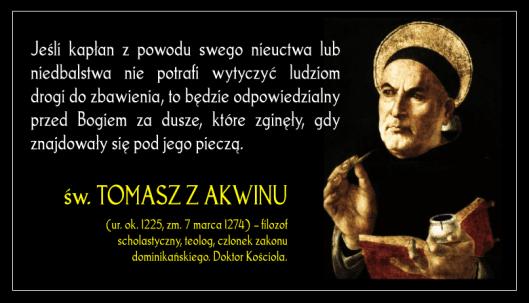 Znalezione obrazy dla zapytania ÅšW. TOMASZA Z AKWINU, PREZBITERA I DOKTORA KOÅšCIOÅ A