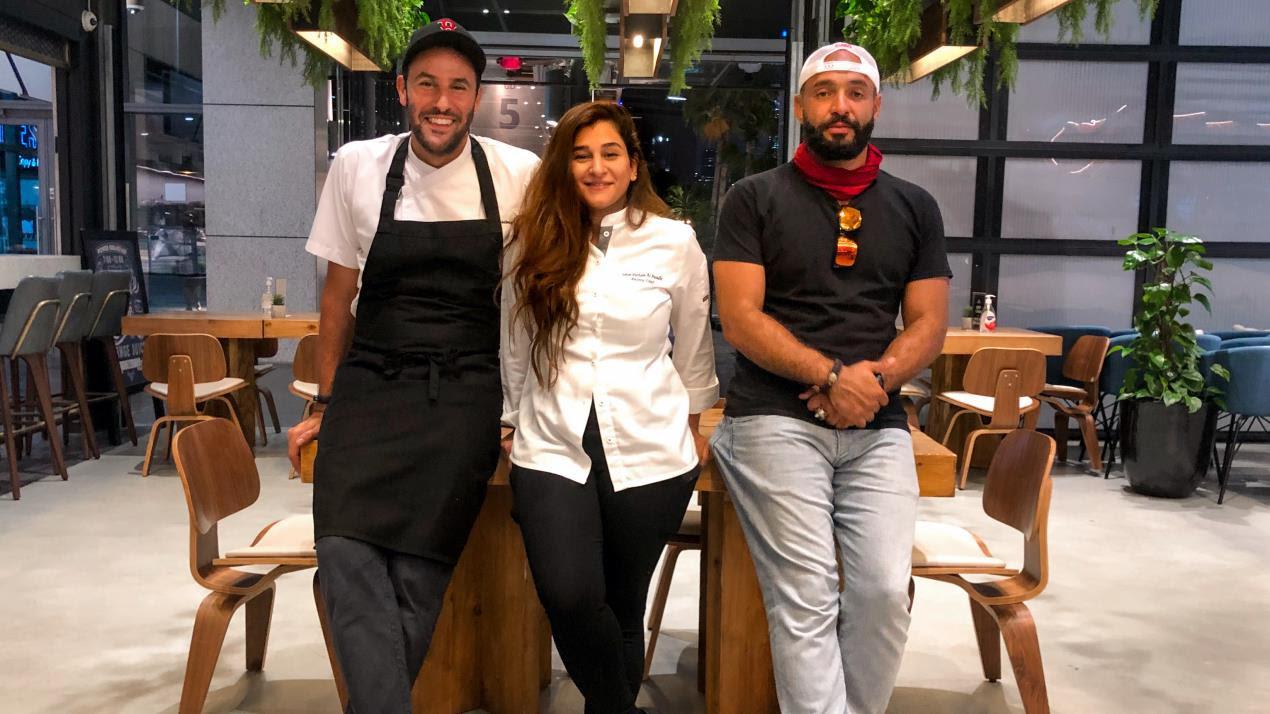 LDC HabibiQ_Chef Omar Basiony, Sahar Parham Al Awadhi, Hattem Mattar