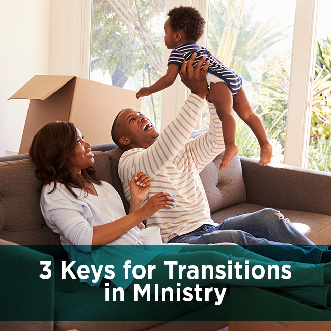 3 Keys for Transitions in MInistry