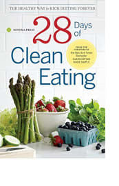 28 Days of Clean Eating by Sonoma Press