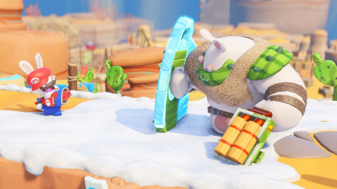 Mario + Rabbids Kingdom Battle Gold Edition includes the full game and the season pass. (Graphic: Bu ...