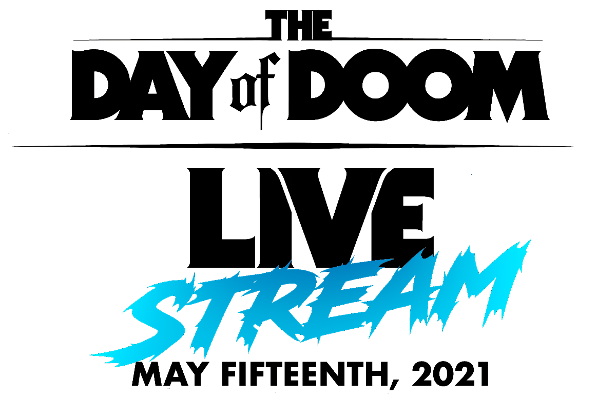 Day of Doom Livestream logo 2021