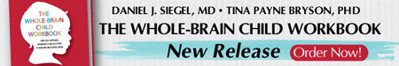 Reserve Your Copy Today! Whole-Brain Child Workbook by Dr. Daniel Siegel & Dr. Tina Payne Bryson