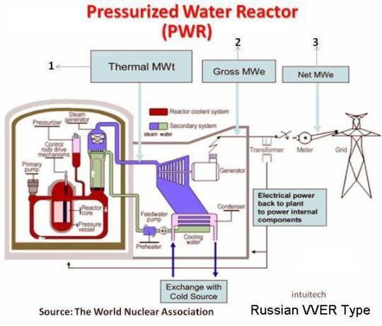 Schematic Pressurized Reactor