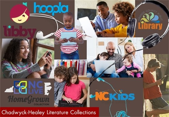 ebooks at the Orange County Public libary