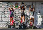 Pódio da elite feminina super pro (Wladimir Togumi / Brasil Ride)