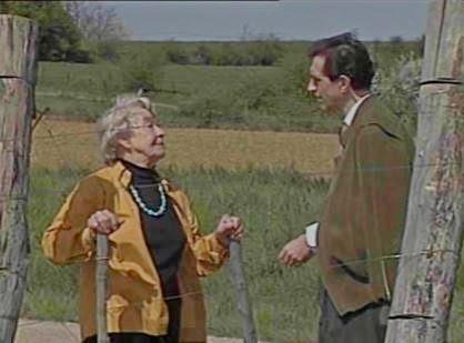 Gitta Mallasz et Michel Cazenave en 1992