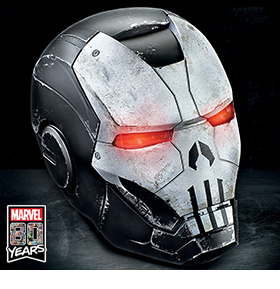 MARVEL COMICS 80TH ANNIVERSARY 1:1 SCALE PUNISHER HELMET