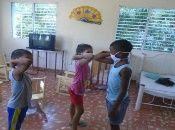 children without family protection in the care of the Cuban state, complying with preventive measures