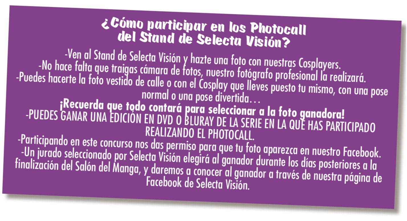 Actividades de Selecta Visión en el 25 Manga Barcelona.