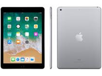 iPad 6 Apple 32GB Cinza Espacial Tela 9.7? Retina
