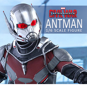 HOT TOYS CAPTAIN AMERICA: CIVIL WAR 1/6 SCALE ANT-MAN