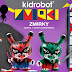 "Limited Edition Zmirky 5"" Dunnys, Skate Deck and T-Shirt by Roman Klonek drop on Kidrobot.com in 30 Minutes!"