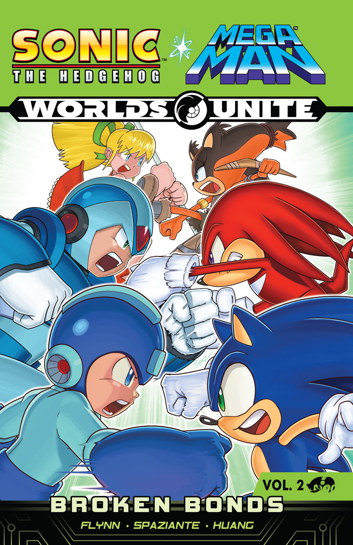 Sonic/Mega Man Worlds Unite Vol 2 Cover