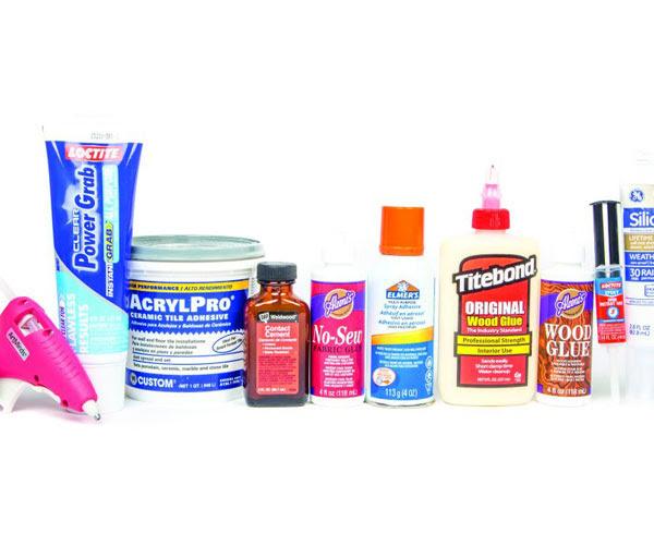 Glue Referance Chart