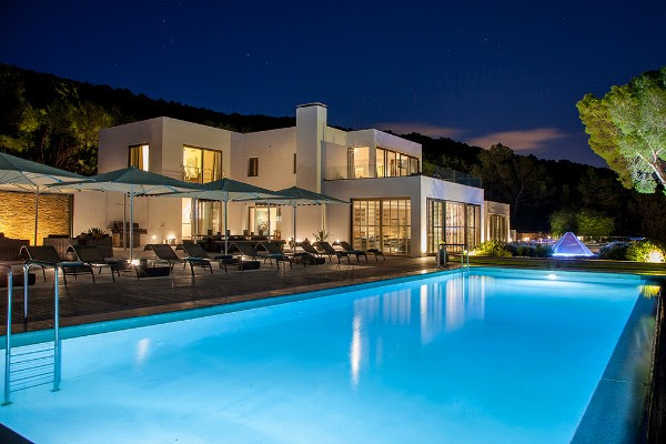 Breathtaking view Villa Vista Azul in Ibiza