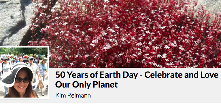 Kim's Earth Day Fundraiser