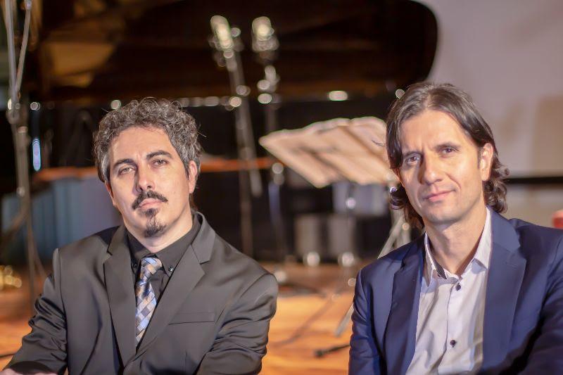 Mauricio Charbonnier y Leonardo Le San