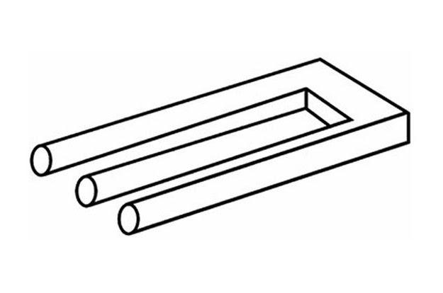 Αυτή η                                                            κλασική οπτική                                                            ψευδαίσθηση                                                            είναι γνωστή                                                            ως Blivet.