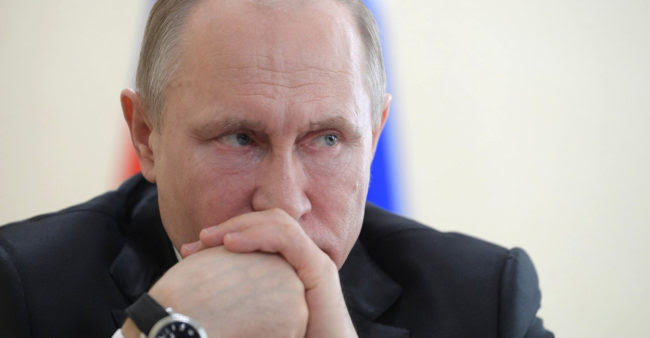 Time to Turn Up the Heat on Putin