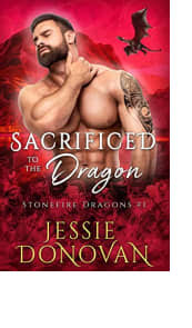 Sacrificed to the Dragon by Jessie Donovan