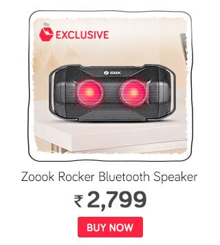 Zoook Rocker JAM Bluetooth Speaker