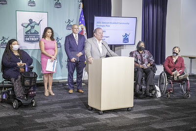 Disability Affairs Strategic Plan Announcement Photo