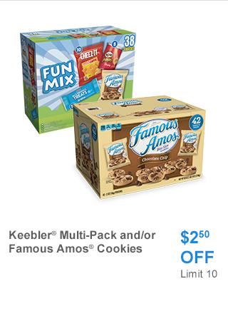 Keebler multi pack/Cookies