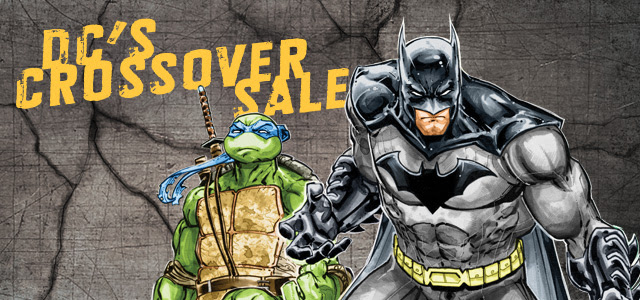 DC's Crossover digital comics sale