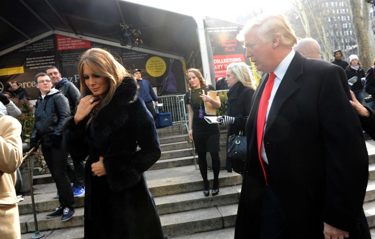 Melania Trump, February 2010