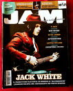 Jack White on cover of JAM Magazine Italy #190 Springsteen Genesis Afterhours