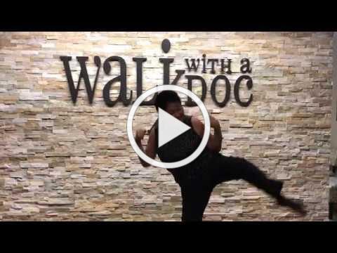 Dr. Wee Dancing in Walk HQ!