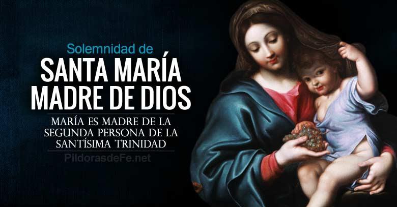 santa maria madre de dios solemnidad