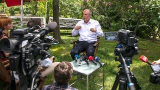 Muharrem İnce yabancı gazetecilere konuştu