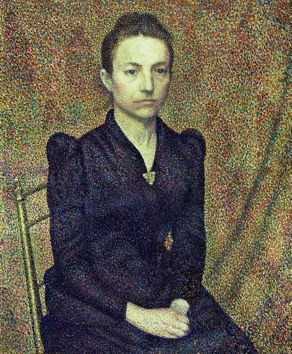 PORTRAIT OF THE ARTISTS SISTER (1891) (577x700, 618Kb)