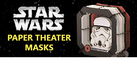 Star Wars Paper Theater Masks