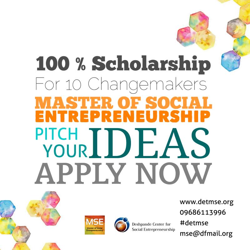 Master of Social Entrepreneurship