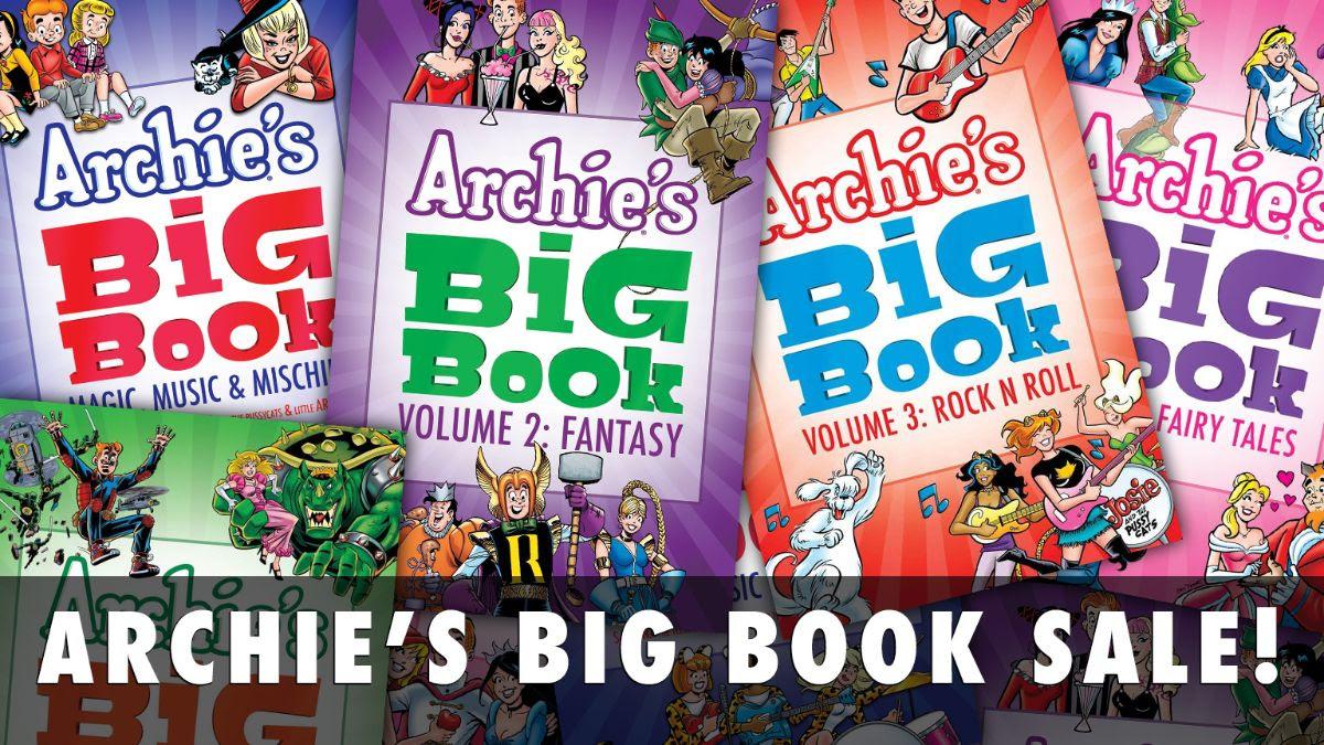 ARCHIE'S BIG BOOK Sale!
