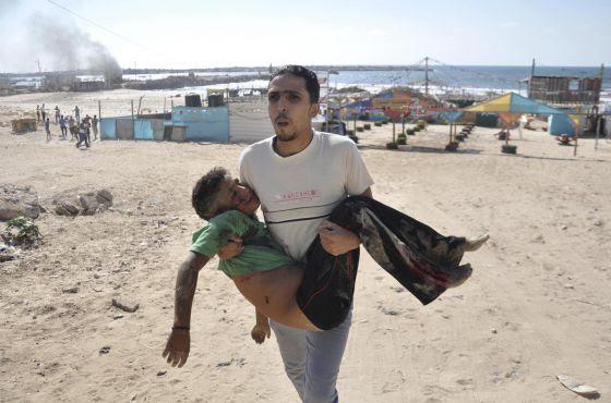 niños asesinados palestina