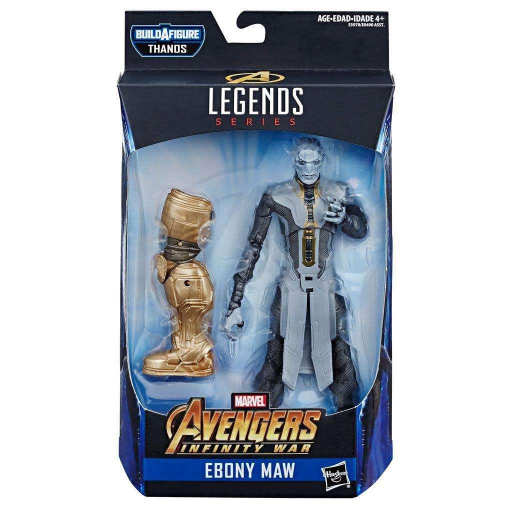 Image of Avengers: Endgame Marvel Legends (Thanos BAF) - Ebony Maw