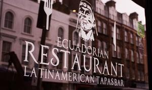 Ecuadorian Meal with Wine, Angel
