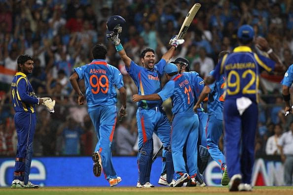 Yuvraj Singh was the man of the tournament of the World Cup 2011.